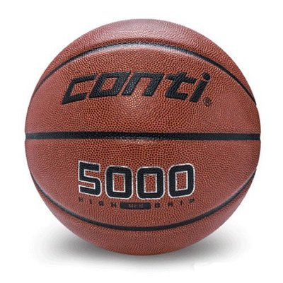 CONTI- 超軟合成貼皮籃球 7號球   B5000-7[迦勒=]