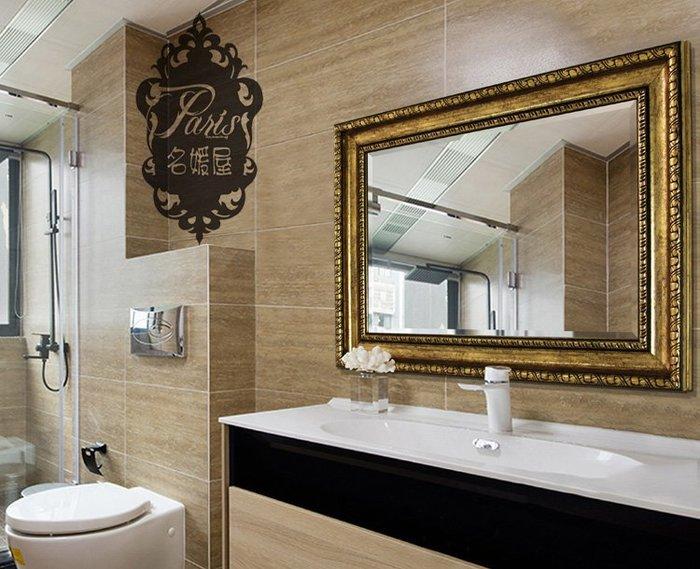 歐式 神秘異國埃及風 奢華 美式鄉村簡約風 浴室鏡 穿衣鏡 全身鏡 玄關鏡 化妝鏡