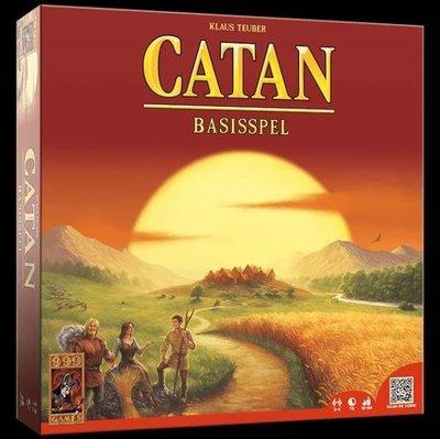 大安殿實體店面 送牌套附彩色中規 The Settlers of CATAN 卡坦島 基本版 外文正版益智桌遊