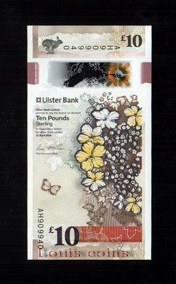 【Louis Coins】B070-NORTHERN IRELAND-2018北愛爾蘭塑膠鈔.10 pounds