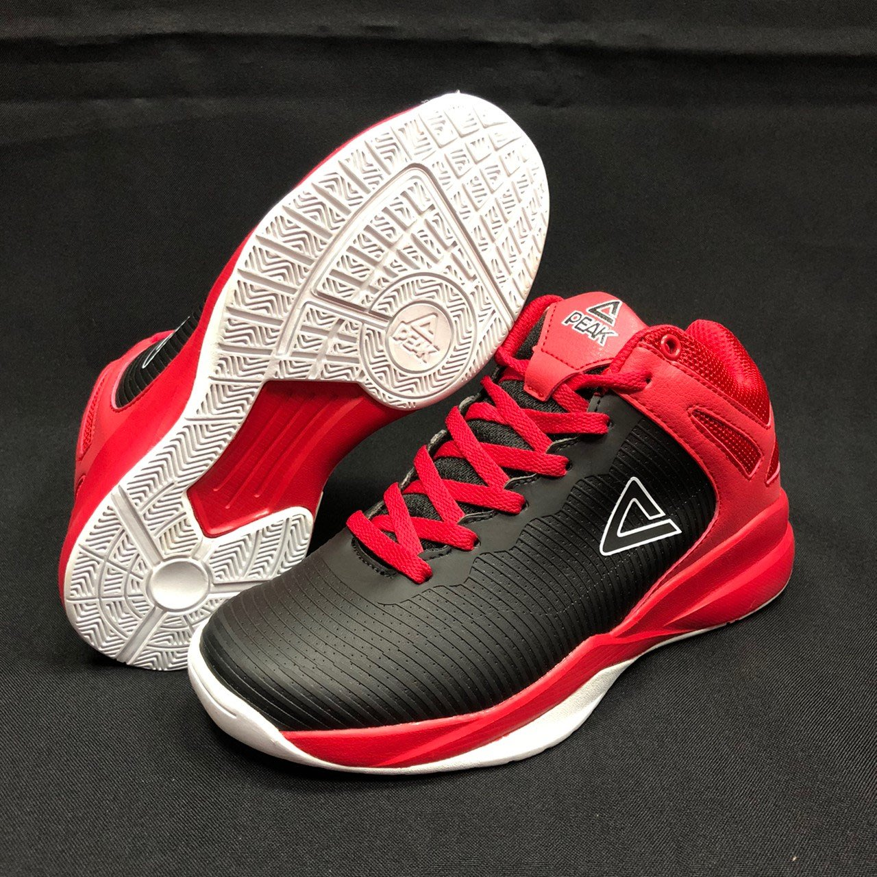 PEAK  籃球鞋 (有女生尺寸)  EW8220A   黑紅  T20   亮禹體育PEAK台灣經銷商