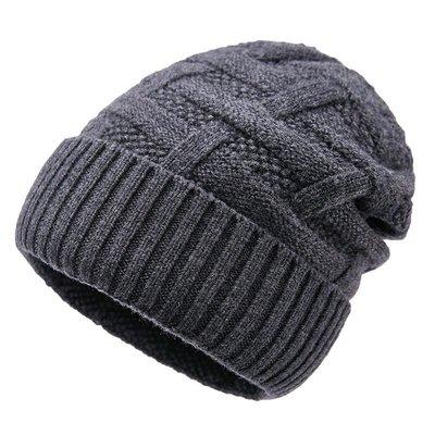 毛帽 羊毛針織帽-捲邊純色毛線休閒男帽子4色73wj20[獨家進口][米蘭精品]