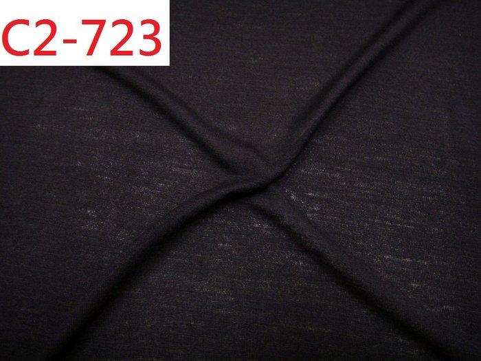 (特價10呎100元) 拼布零碼布【CANDY的家2館】特價布料 C2-723 深咖啡微透針織橫紋蛀蟲網紗上衣洋裝料