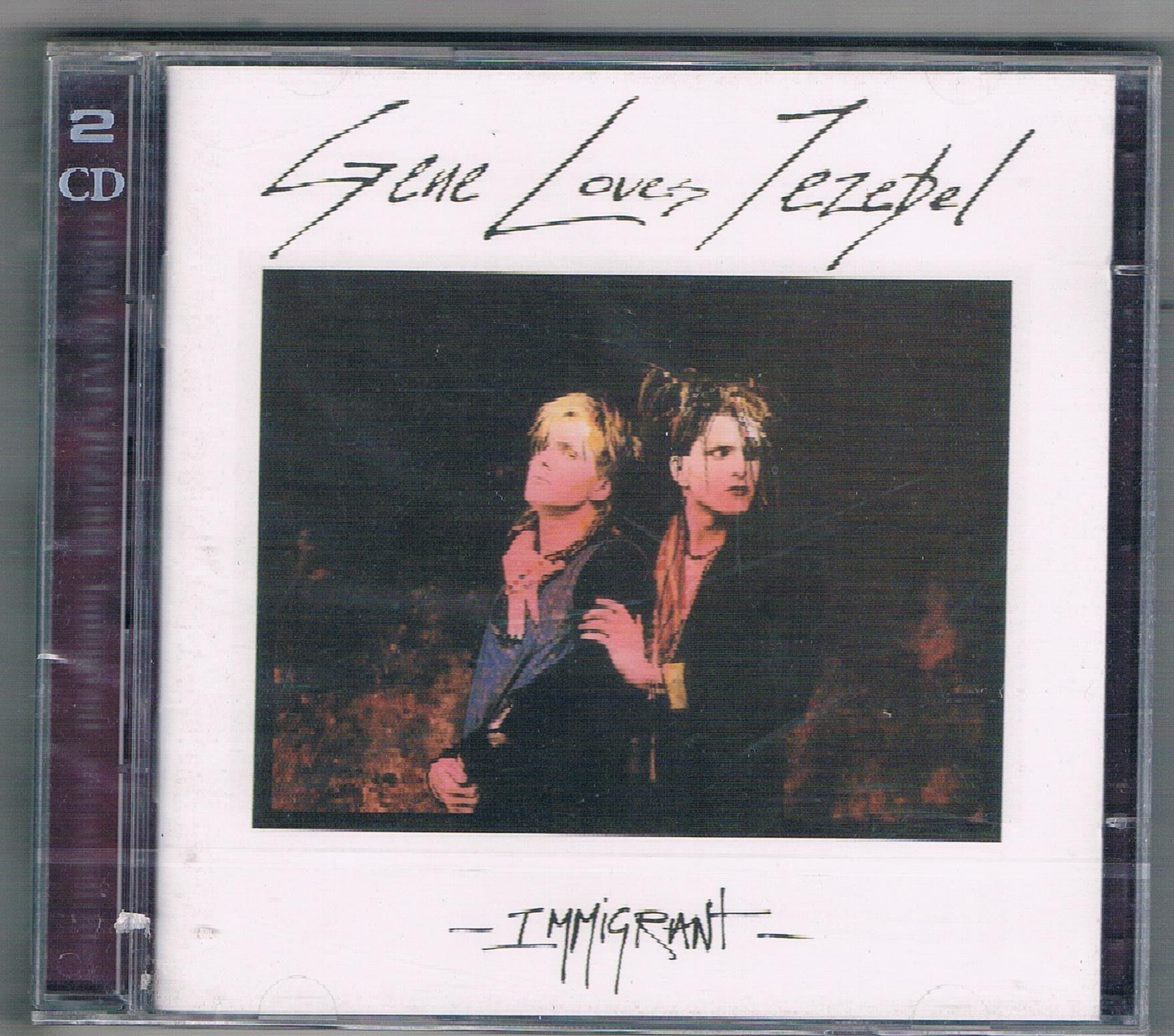 [鑫隆音樂]西洋CD-GENE LOVES JEZEBEL / Immigrant -2CD {BBL2012CDD}
