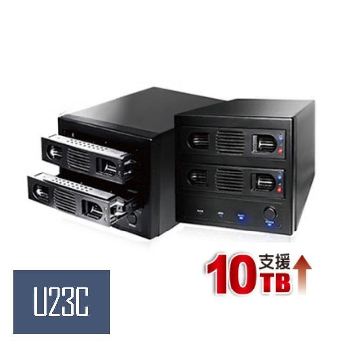 【嘉義U23C】伽利略 USB3.0 1至2層抽取式硬碟外接盒 35D-U32R