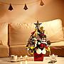 【Q比花園】C聖誕節佈置 小聖誕樹 交換禮物...