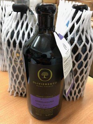 代購 Oliviers & CO 克羅埃西亞艾格羅拉葛那橄欖油500ml(草本清香),克羅埃西亞製造,贈送橄欖油嘴頭。