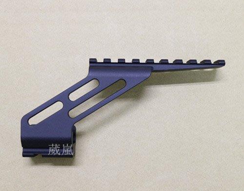 手槍 滑軌 通用 鏡橋 黑 ( 寬軌 夾具 瓦斯槍 CO2槍 模型槍 狙擊鏡 內紅點 紅外線 紅雷射 快瞄 魚骨 鏡軌