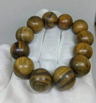 琳達購物中心-限量優惠品質保證-實品拍攝-越南沉水肖楠樹榴手珠18mmx12顆(免運)