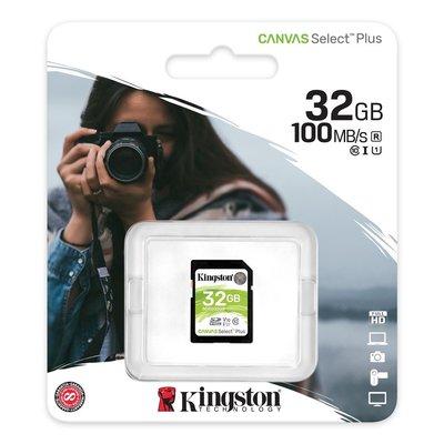含稅附發票 公司貨 Kingston 金士頓 32GB SDHC SD U1 C10 V10 SDS2/32G 記憶卡