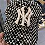 NEW YORK Yankees 老花滿版(黑色)老帽 東區...