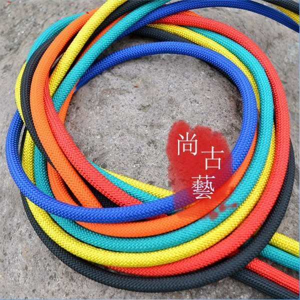 10米登山繩 尼龍逃生繩 逃生繩 救生繩 防火災消防繩 安全繩 緩降器鋼絲繩 內芯繩索繩子
