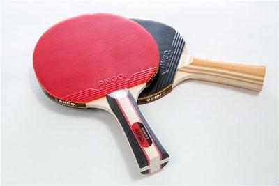 便宜運動器材 ANGO START 實用桌球拍 PAAAGSTART2-W