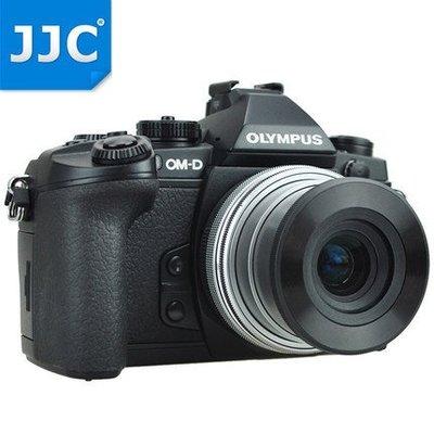 JJC Olympus  E-M10 E-P5 E-PL9自動蓋MZD 14-42mm自動鏡頭蓋f3.5-5.6 EZ