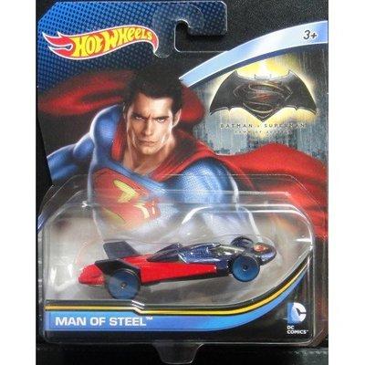 變形金剛~Hot Wheels 風火輪 蝙蝠俠 VS 超人 正義曙光 MAN OF STEEL 鋼鐵英雄