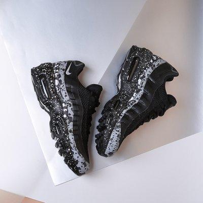 R' 代購公司貨 Nike WMNS Air Max 95 SE 黑白潑墨 女慢跑鞋 918413-003