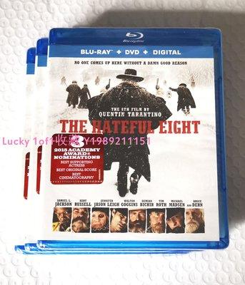 Lucky 1of1收藏bd正版藍光碟 The Hateful Eight 八惡人 昆汀塔倫蒂諾電影US