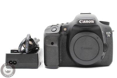 【高雄青蘋果3C】CANON EOS 7D 單機身 二手單眼 APS-C 快門40750 二手相機  #49695