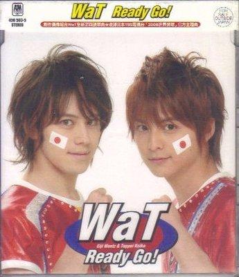 環球 WaT Ready Go !(通常盤) CD 全新 小池徹平 瑛士