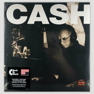 [英倫黑膠唱片Vinyl LP] 強尼凱許 / 美國系列5 / 百線大道 Johnny Cash/American V