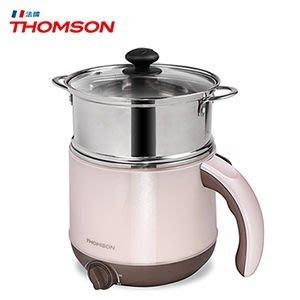 【THOMSON湯姆笙】雙層防燙不鏽鋼多功能美食鍋 TM-SAK14
