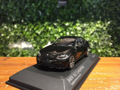 1/43 Minichamps BMW M2 Competition 2019 Black 410026201【MGM】