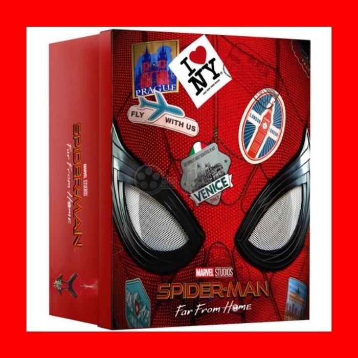 【4K UHD】蜘蛛人 離家日:4K UHD+3D+2D 四合一限量鐵盒版(英文字幕)Spider-Man