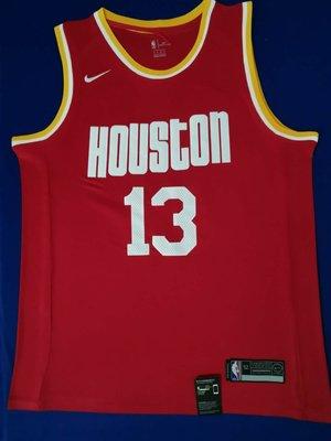 詹姆士·哈登(James Harden)  火箭隊球衣13號 紅色
