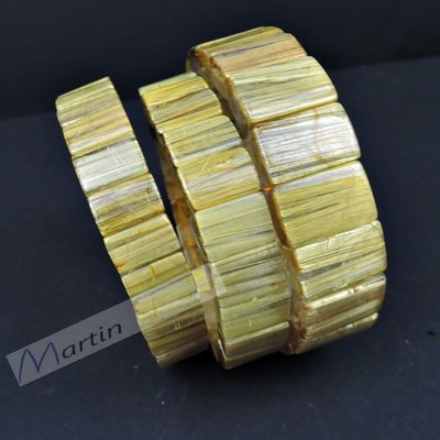 【MARTIN水晶】滿絲鈦晶手排 貓眼 女男款 金髮晶 手鐲型 手鍊 飾品 天然鈦晶 鈦晶手排 鈦晶