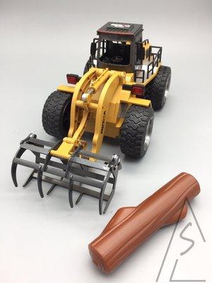 阿莎力 高仿真 遙控工程車 抓木車 正版代理公司貨 非水貨 砂石車 怪手 挖土機