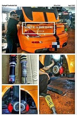 SECRET手工避震器BMW  E30 E36 E38 E39 E46 E90 E92 E93 F10 M3 M6 M5