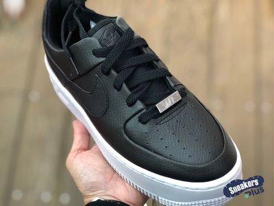 「plus+」 折特價 Nike AF  Sage Low 黑色 AF  經典厚底鞋 增高鞋 女鞋 AR   9