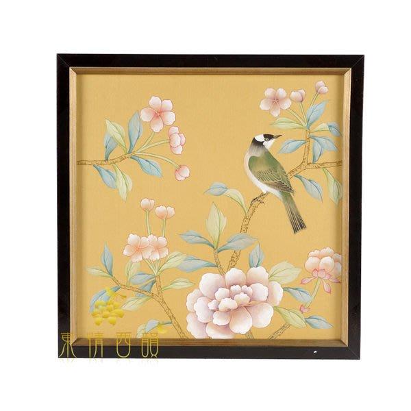 【芮洛蔓 La Romance】東情西韻系列手繪絹絲畫飾 CHB-001