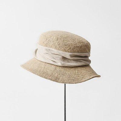睡美人~日本代購 mature ha 21春夏 定番 jute drape hat middle 草帽