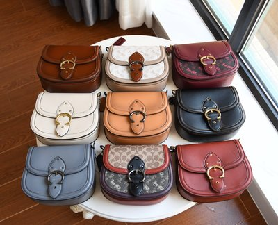 【Woodbury Outlet Coach 旗艦館】COACH 0745 0747 馬鞍包 斜跨包美國代購100%正品
