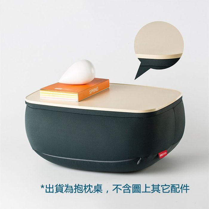 5Cgo【批發】含稅 552407170115 韓國進口JOODESIGN靠枕抱枕小桌子 懶人書桌筆記本電腦桌可拆洗