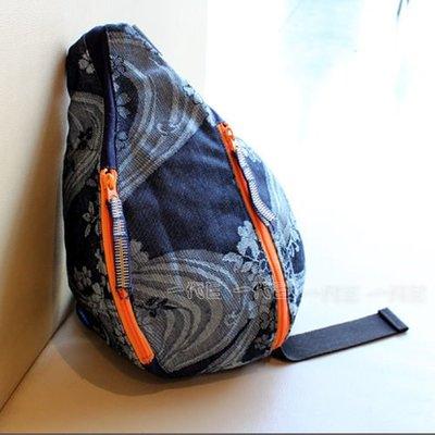 【一代目】日本精品 備中倉敷工房 Eternal-43772 圖騰帆布水滴包 側背包 肩背包