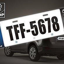 【STREET PARK】訂製 歐盟 車牌裝飾 TOYOTA  RAV4 TRD【原價780$ 特價580$】