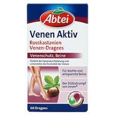 德國 Abtei Venen Aktiv Dragees 七葉樹靜脈曲膠囊 60 顆