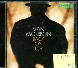 *愛樂二館* VAN MORRISON / BACK ON TOP 二手 D0119