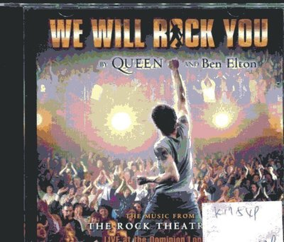 *真音樂* QUEEN / WE WILL ROCK YOU 二手 K17549