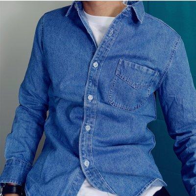 Myplace.com 淺 Denim shirt~牛仔襯衫~