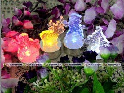 【愛團購】聖誕節LED蠟燭燈 電子蠟燭燈 聖誕樹 麋鹿 雪人 聖誕老人 隨機出貨 量大可議價