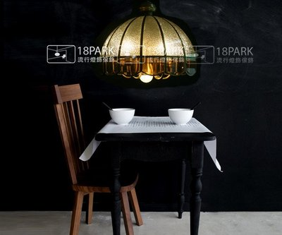 【18 Park 】藝術古典 華麗奢華 Roman blinds [ 蜂蜜屋吊燈-大 ]