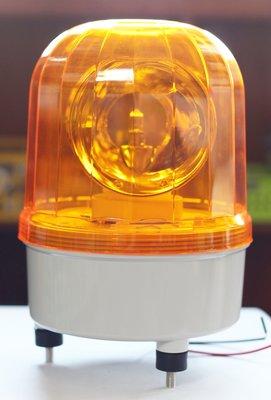 [極炫LED小舖] 24v黃色旋轉警示燈 (台灣製)