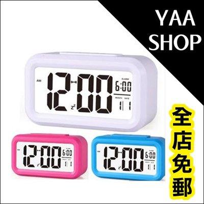 YAASHOP 528 LED電子鬧鐘多功能學生時鐘鬧鐘夜光靜音電子鐘創意簡約臥室床頭