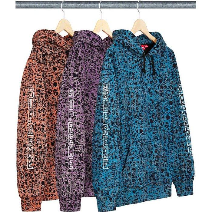 【美國鞋校】預購   Supreme SS19 Marble Hooded Sweatshirt 帽TEE 3色