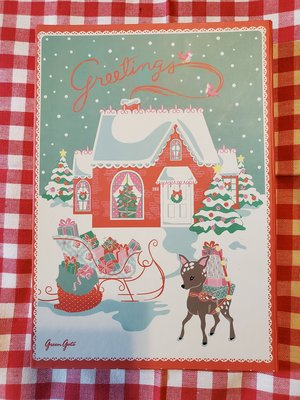 GreenGate Christmas Card Kit w/ Greetings Cards (卡片組)