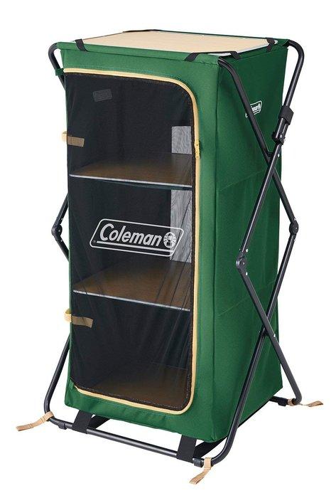 日本【Coleman】廚房收納櫃/三層櫃