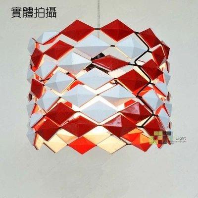 【SUN LIGHT 日光燈坊】壓克力菱格紋吊燈,另PH松果MODO魔多With lozenge